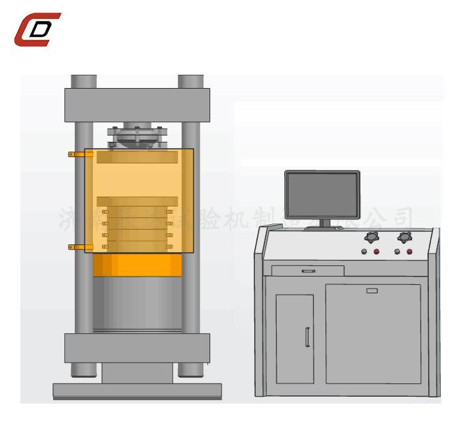 YAW-2000D全自动欧标压力试验机