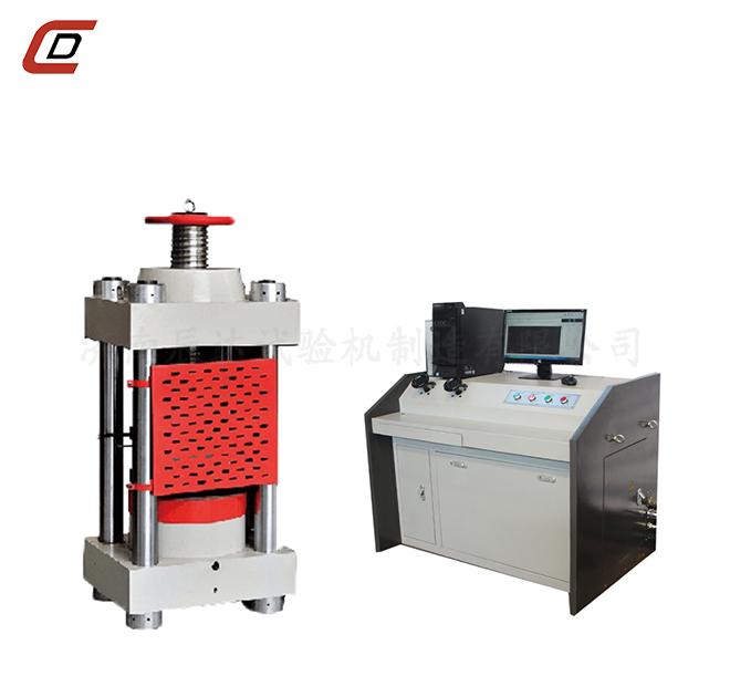 水泥压力试验机的维护保养与使用要求